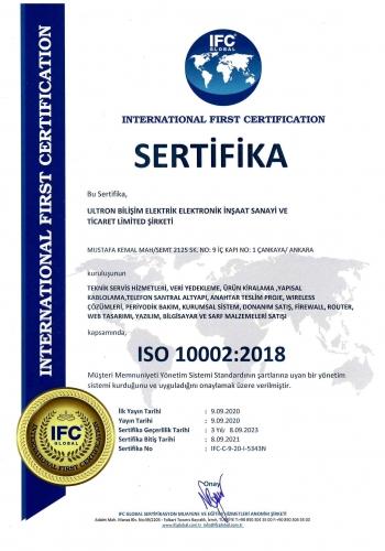ULTRON ISO10002